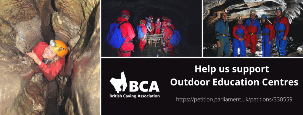 #SaveOutdoorEd campaign banner